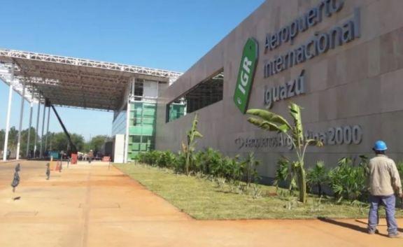 Aeropuerto de Iguazú con todos los protocolos listos para retorno de los vuelos