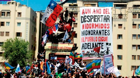 Chile: un muerto y casi 600 detenidos