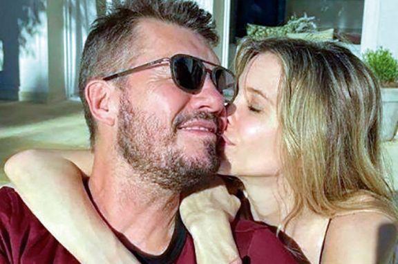 Tinelli y Valdés afianzan su amor agrandando la familia
