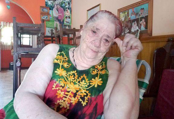Anciana pide volver a  su casa en Formosa