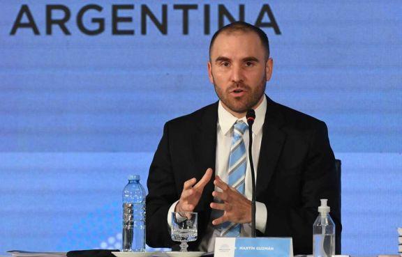 """Martín Guzmán: """"El dólar blue es menos importante que el CCL"""""""