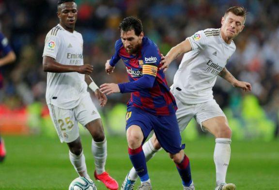 Con Messi como estandarte, Barcelona recibe a Real Madrid en el clásico de España
