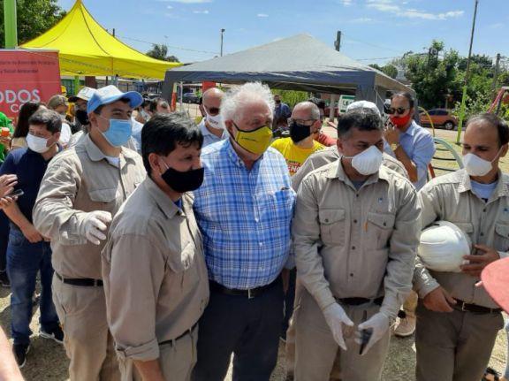 Ginés García dio inicio a la Campaña Nacional contra el Dengue en Posadas