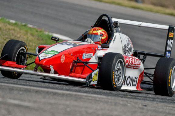 Chiappella terminó noveno en la primera final de la Fórmula Renault 2.0
