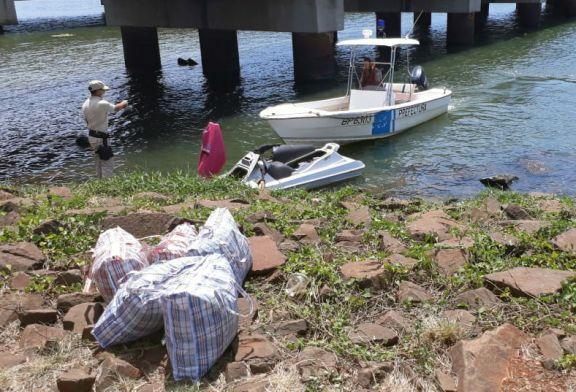 En moto de agua traía marihuana y fue interceptado por Prefectura
