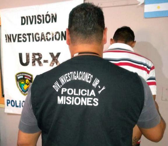 """Cayó """"Patito"""" acusado de robar a dos hombres en Posadas"""
