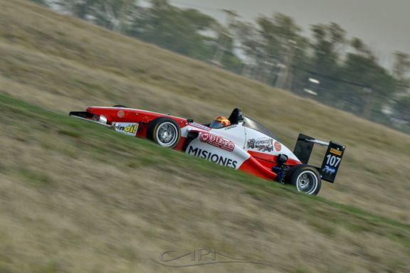 Chiappella cerró el fin de semana en Córdoba con un décimo puesto en la Fórmula Renault 2.0