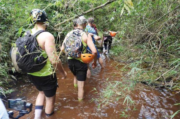 Oberá: ofrecen experiencias de turismo aventura