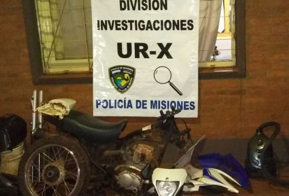 Posadas: detienen a cuatro hombres y recuperan objetos que habían sido robados