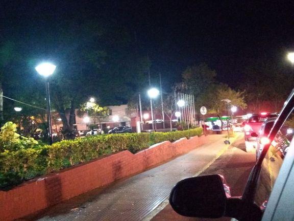 Caravana y bocinazos para exigir más seguridad en Puerto Esperanza