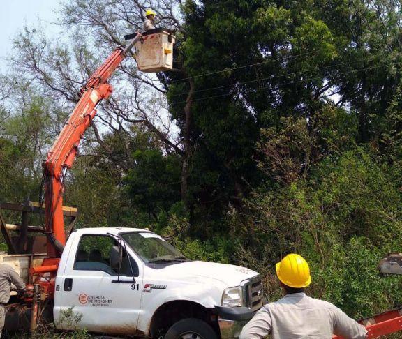 Mañana corte de energía en Jardín América y municipios aledaños