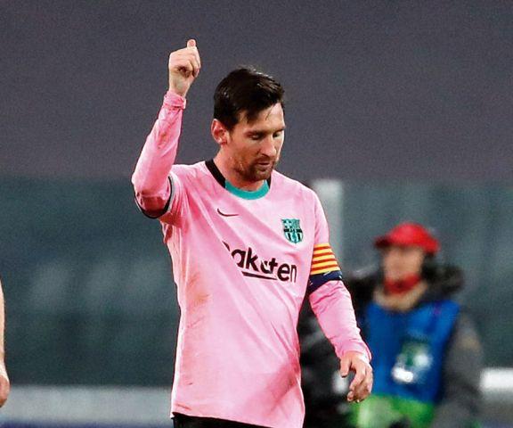 Con la ayuda de  Messi y el VAR