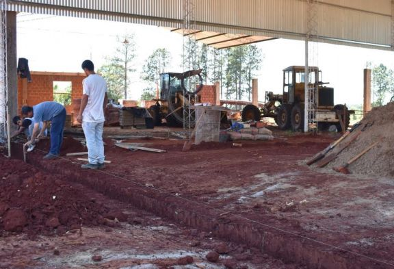 San Pedro: avanzan en la construcción del nuevo taller municipal