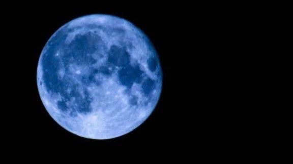 La Luna azul, un fenómeno que ocurre cada dos años