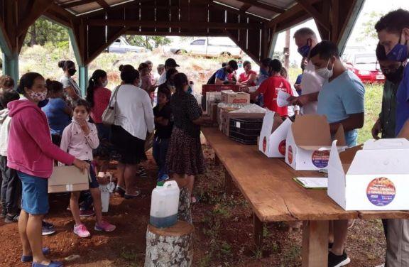Pondrán en funcionamiento la primera feria de alimentos agrícolas en Fracrán