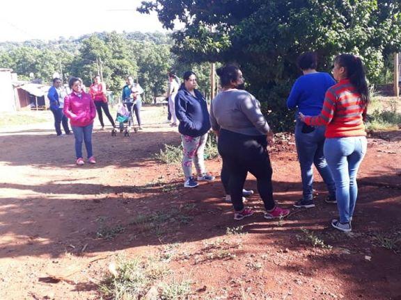 Oberá: Denuncian que sacaron canilla pública y dejaron a un barrio sin agua potable