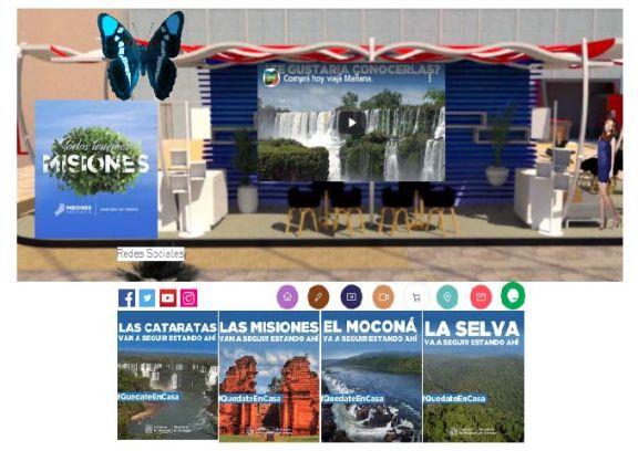 La 1° Feria Virtual de Turismo en Argentina será misionera