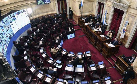 El Senado debate el proyecto que refinancia las deudas de las provincias con la Anses