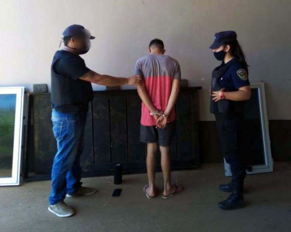 Atraparon a un joven involucrado en al menos tres ilícitos en Posadas