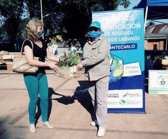 Nueva jornada exitosa de concientización ambiental en Montecarlo