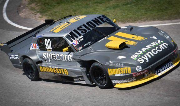 Bundziak fue séptimo en la clasificación del TC Mouras en La Plata
