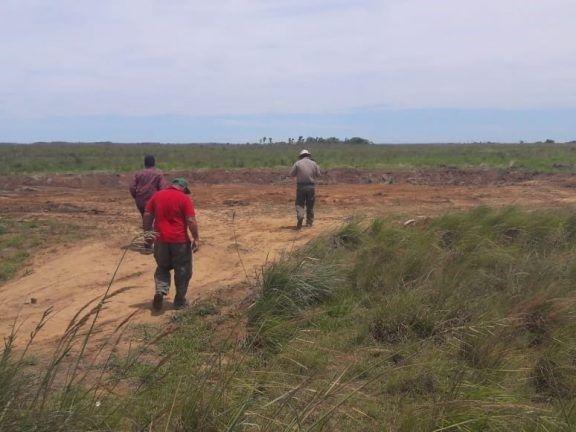 Inspecciones de tierras fiscales en Isla Apipé en el marco del plan de regularización