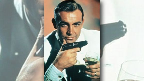 Subastan la pistola que usó Sean Connery en su primera película de James Bond
