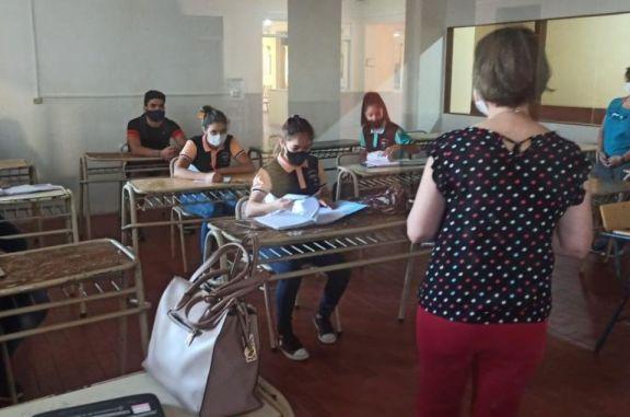 En San Javier los alumnos volvieron a clases con mucha expectativas