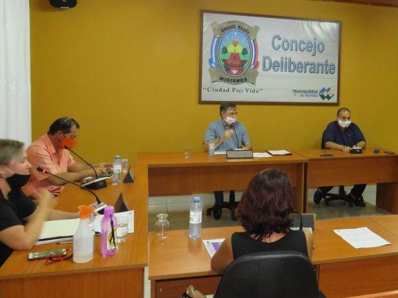 Tensa sesión en el Concejo Deliberante de Wanda por temas de inseguridad