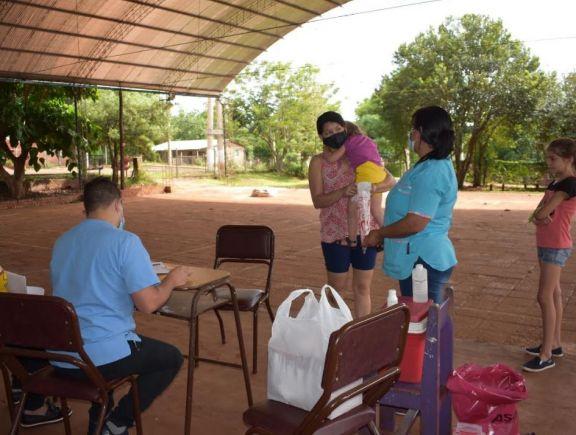 San Pedro: buscan alternativas a fin de lograr calendarios completos de vacunación