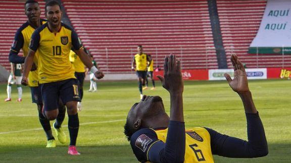 Ecuador logró un triunfo clave: le ganó 3-2 a Bolivia en La Paz por las Eliminatorias