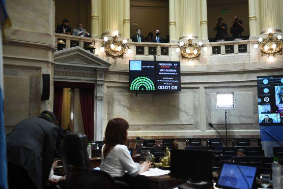 El Senado aprobó el Presupuesto 2021 pero para ser ley deberá volver a Diputados