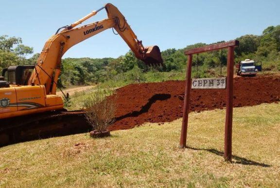 San Pedro: comenzó la construcción del nuevo edificio para el CEP 37