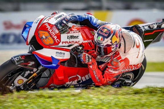 Miller es el más rápido del viernes en el Moto GP