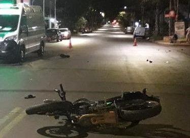 Otro motociclista muere en Posadas tras colisión con un automóvil