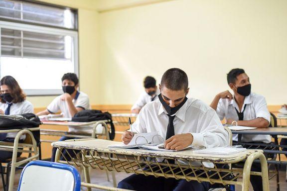 En Misiones volvieron a clases presenciales más de 14.000 estudiantes