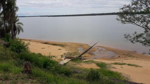 Bajante: otra semana con el río Paraná por debajo de los 0.90 m. en Ituzaingó