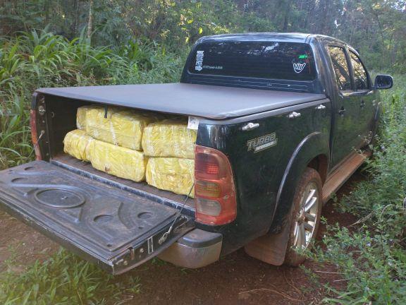 Gendarmería secuestró casi 800 kilos de marihuana