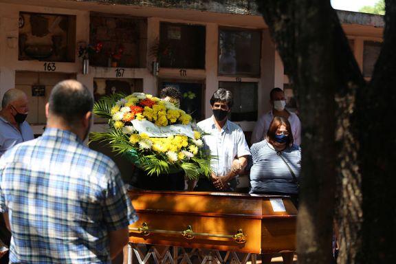 Despidieron los restos del chef posadeño que murió en Brasil