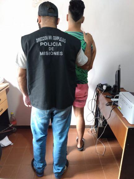 Detienen a una pareja vinculada a hechos de robo