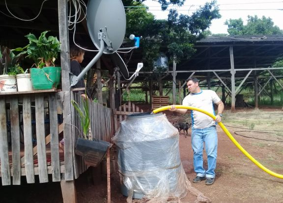 Emergencia Hídrica: más de 50 familias son asistidas con agua en Pozo Azul