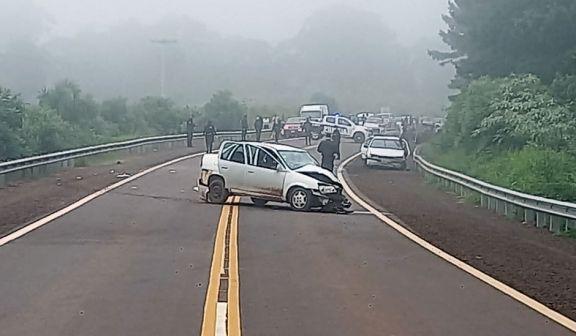 Joven policía falleció en un accidente de tránsito