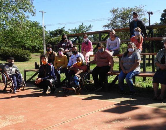 Se encuentra en funcionamiento la Escuela de Deportes Adaptados en Campo Ramón