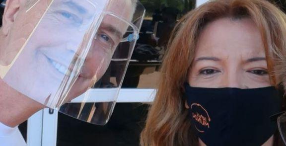 Marley y Lizy dejan Posadas para emprender viaje hacia Iguazú
