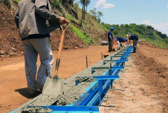 Comenzó la construcción de la costanera de Puerto Piray