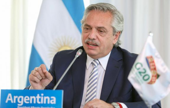 """Fernández: """"Debemos atacar la desigualdad para vivir en un mundo más equilibrado"""""""