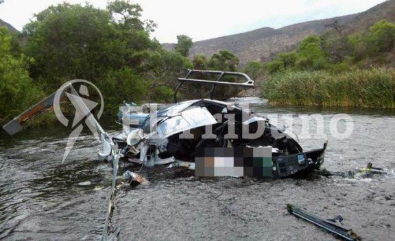 Avanzan en Salta las pericias sobre los restos del helicóptero en el que falleció Jorge Brito