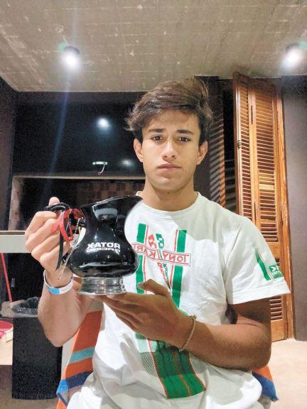 Grimaldi hizo podio en la Rotax Bue