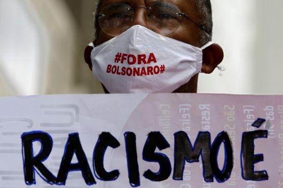 Increpan a Bolsonaro por haber criticado a los manifestantes por la igualdad racial