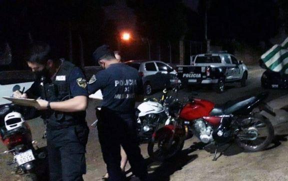 Más fiestas clandestinas en Posadas con demorados y policías involucrados